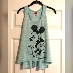 Disney Mickey Mouse Mint Sweater Tank Top
